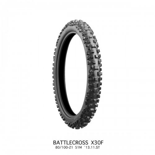 Anvelopa Bridgestone Battlecross X30 Medium Fata 90/100 - 21 57M TT NHS
