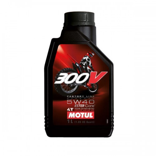 Motul 300V 4T Factory Line 5W40 Off Road 1L