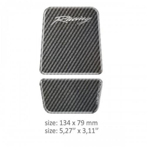 Tank Pad onedesign Carbon - 13.4 cm X 7.9 cm